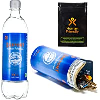 PartyBottle Diversion Safe Bottle Stash Can w/Smell-Proof Stash Bag by HumanFriendly - Ultra-Discrete, Authentic Looking…