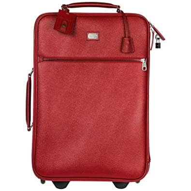 RougeAmazon Homme Gabbana Bagages Dolceamp; Valise En Trolley Cuir 4A5jR3L