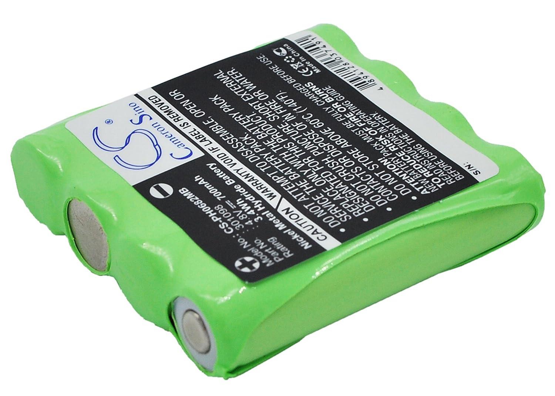 CS-PH0682MB Batería 700mAh [HARTING & HELLING] Bug 2004 Baby Monitor, MBF 4848, MBF 6666, MBF 8020, MBF Bug 2004, [Philips] CE0682, CE06821, MBF8020 sustituye 301098 Cameron Sino