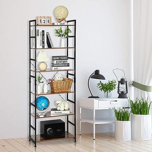 Agreatca Bookshelf Modern Bookcase