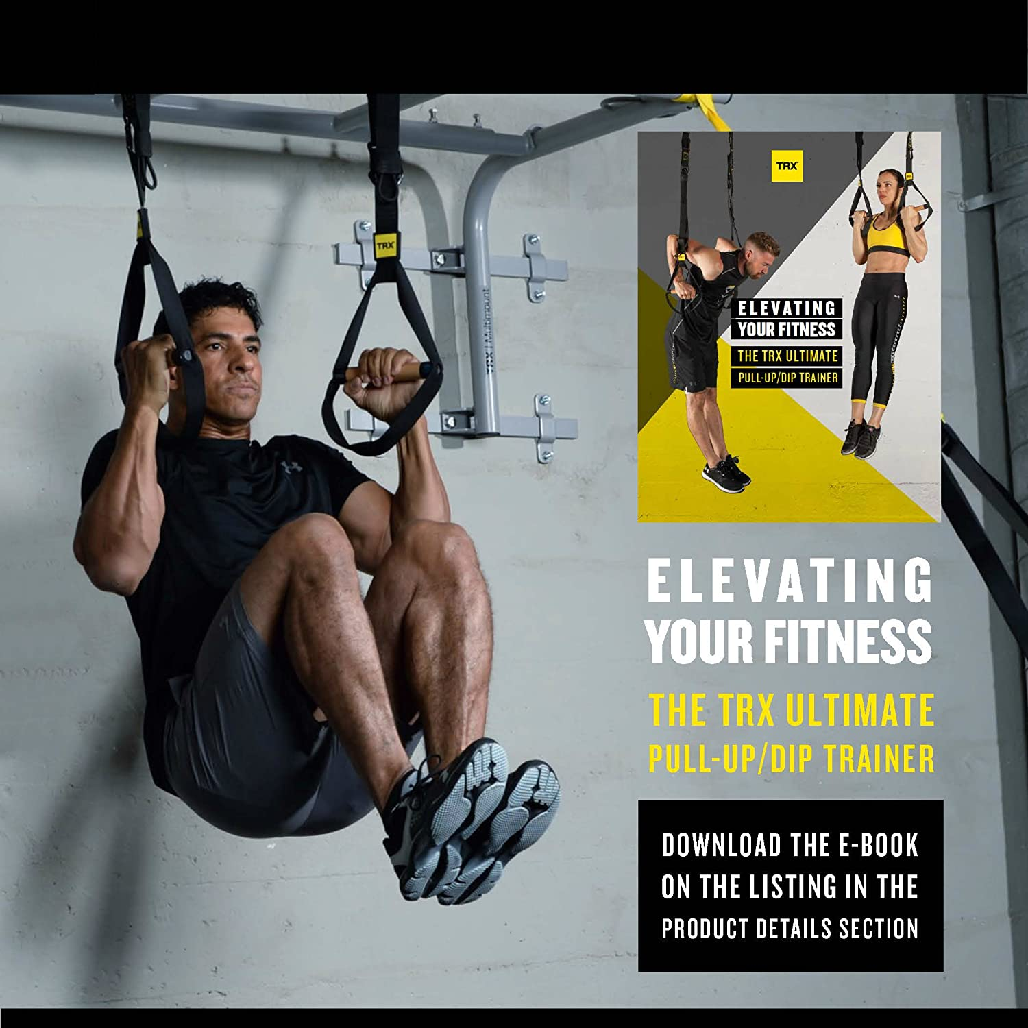Amazon.com : TRX Training - TRX Ultimate Pull Up/Dip Trainer : Sports &  Outdoors