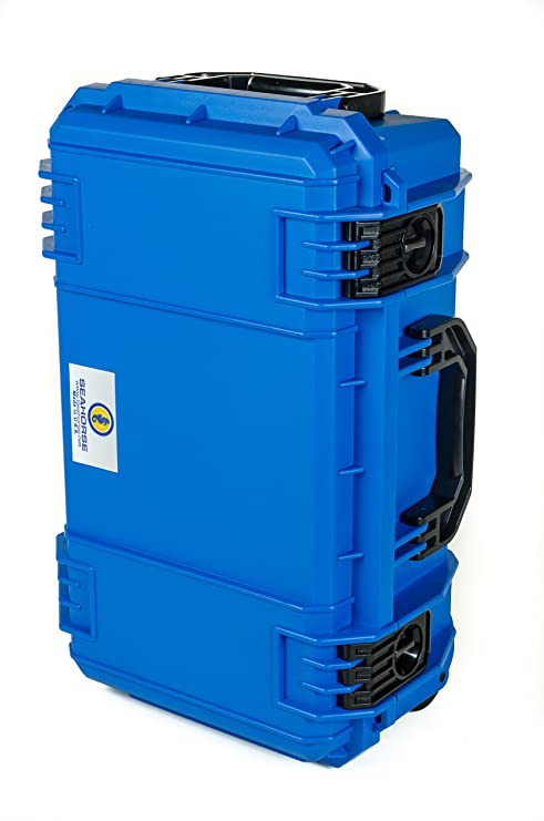 63ef98767e5b Amazon.com : Blue SE830 FAA Carry on approved travel case with ...