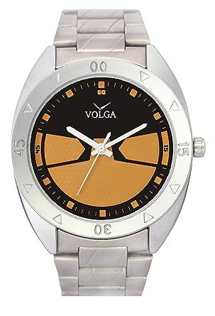 3cddc166e1f Balaji Watch Casual Analogue Black & Orange Dial Men Watch - BW-WAT-W08