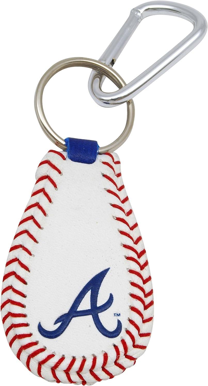 GameWear Atlanta Braves Baseball Keychain