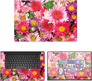 "Decalrus - Protective Decal Floral Skin Sticker for Dell XPS 9570 (15.6"" Screen) case Cover wrap DExps15_9570-211"