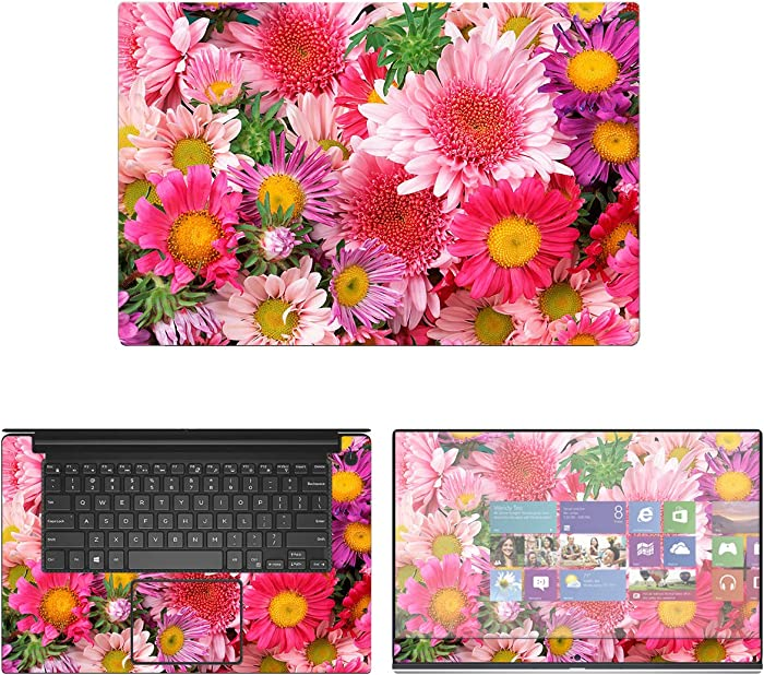 """Decalrus - Protective Decal Floral Skin Sticker for Dell XPS 9570 (15.6"""" Screen) case Cover wrap DExps15_9570-211"""