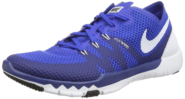 Nike Free Trainer 3.0 V3 Unisex-Erwachsene Hallenschuhe  46 EU|Blau (Game Royal/White-deep Royal)