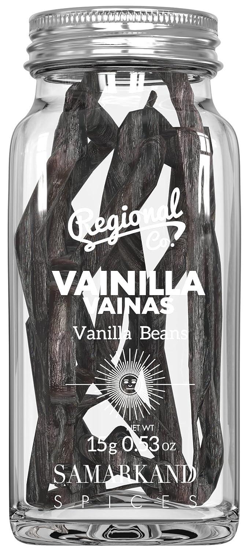 Vainilla en Vainas de Madagascar Calidad Premium 15 gr - Vainillas al Vacío y en Vaso de Cristal