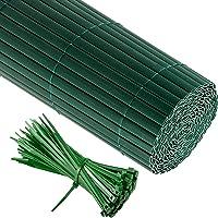 Jarolift PVC Sichtschutzzaun, Sichtschutz-Matte inkl. Kabelbinder Größe und Farbe nach Wahl