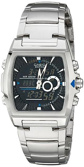 545e617c5063 Image Unavailable. Image not available for. Colour  Casio Men s EFA120D-1AV  Ana-Digi Edifice Thermometer Bracelet Watch