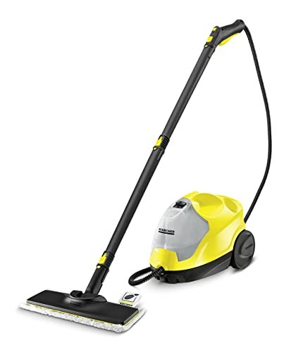 Kärcher 1.512-472.0 SC4 EasyFix Premium Steam Cleaner, 2000 W, 1.3 litres, Yellow