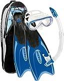 Cressi Masque Tuba Palmes Adulte, Plongée Snorkeling - Kits de Randonnée Aquatique