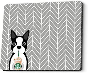 Gaming Mouse Pad Custom Design. Personalized I Love Drink Coffee Rectangle Mouse Pads for Computer, PC and Laptops. Customized Mousepad for Office and Home.
