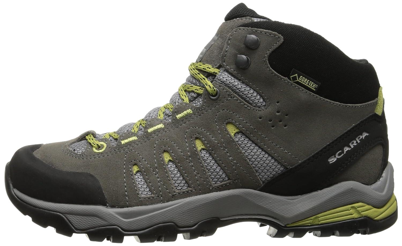 SCARPA Women's Moraine Mid GTX Hiking Shoe B00LM6N5U8 40 M EU / 8.5 B(M) US|Dark Grey/Celery