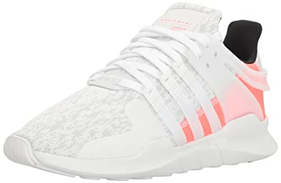 adidas Originals Men's Shoes | EQT Support Adv Fashion Sneakers,  White/White/Turbo
