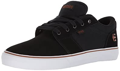 Etnies Men's Barge LS Skate Shoe, Black/Bronze, 5 Medium US