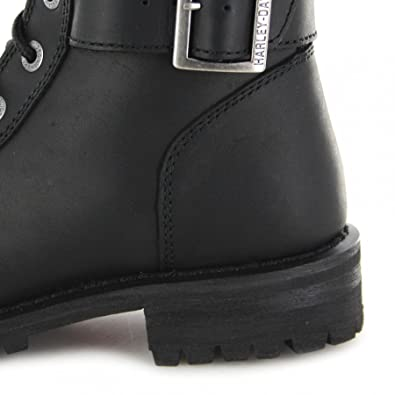 Harley Belhaven Boots 8 Womens Davidson Black it Amazon Leather Uk wrAT6