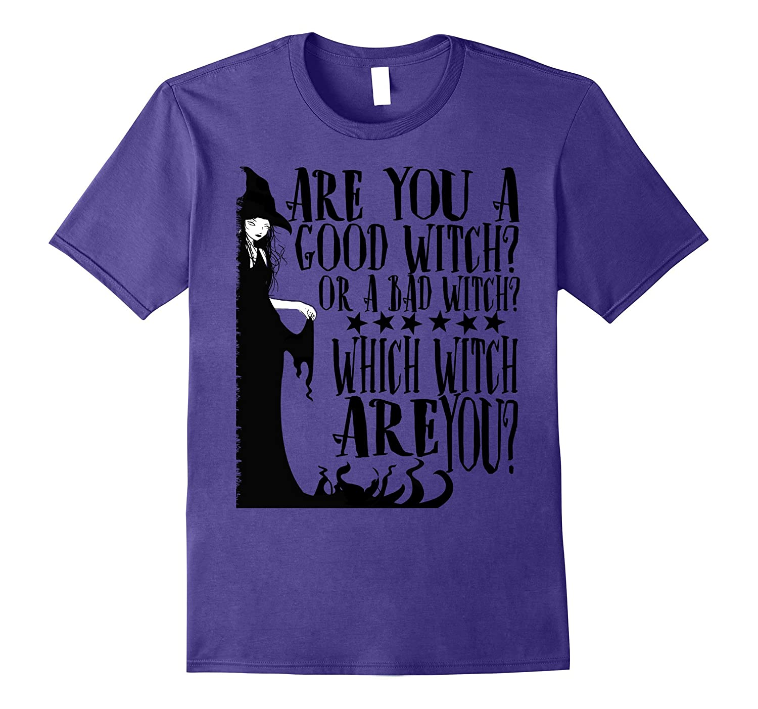 Are You A Good Witch Or A Bad Witch Which Witch T-shirt-FL
