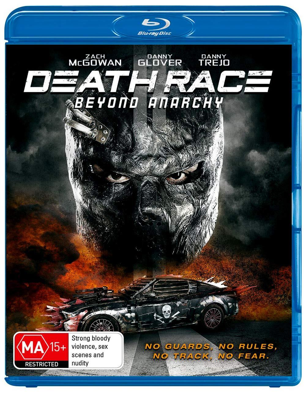 Death Race: Beyond Anarchy [Blu-ray]: Amazon co uk: Zach