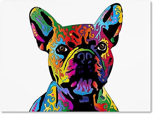 French Bulldog Canvas Wall Art