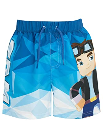 2666cabb3d Tube Heroes Boys Dan TDM Swim Shorts Ages 5 to 13 Years: Amazon.co ...