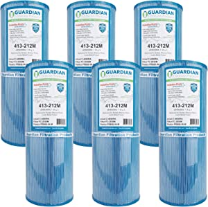 6 Guardian Pool Spa Filter Replaces Unicel C-4950Ra Pleatco PRB50-In-M Fc-2390M