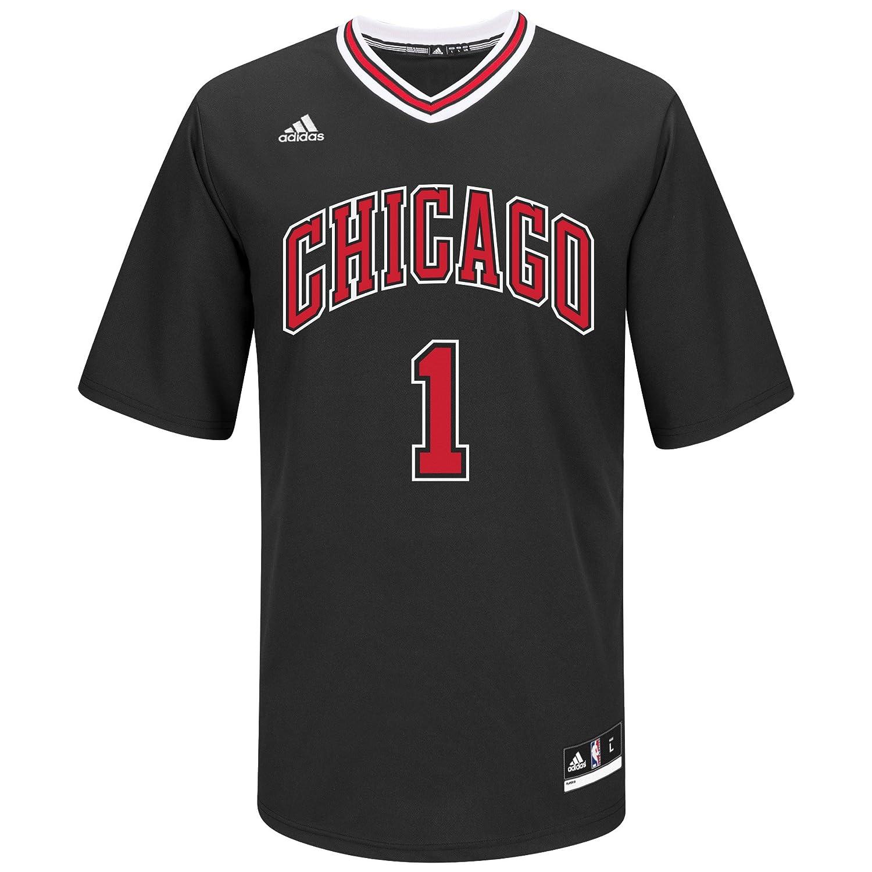 Amazon.com   NBA Chicago Bulls Derrick Rose  1 Men s Replica Jersey ... 7f0349314