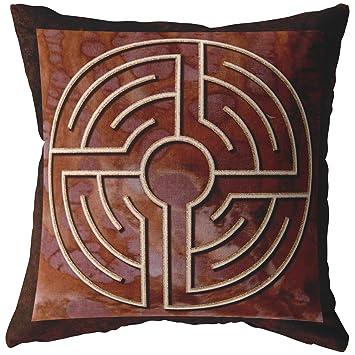Amazon.com: Ravensdaughter Designs - Almohada de laberinto ...