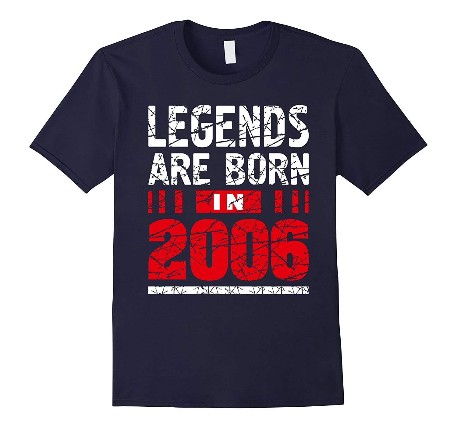 11 years old 11th Birthday B-day Gift Legends 2006 T Shirt-FL