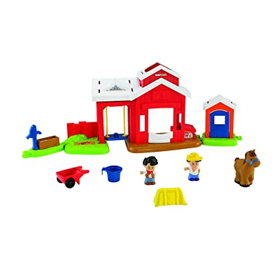 Fisher-Price Little People Horse Stable: Toys & Games