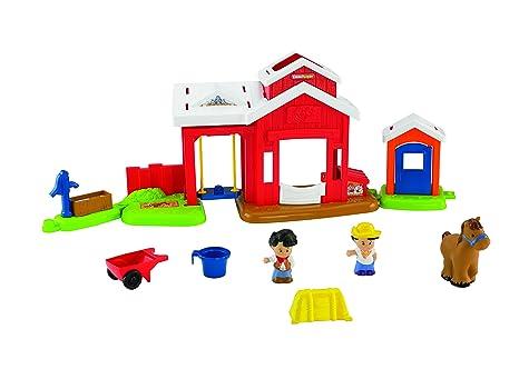 Little People Pferdestall Fisher Price Kinder Spielzeug Pferde Kleinkindspielzeug