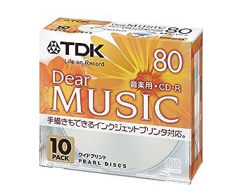 Amazon.com: TDK CD-R 80 minutos impresora de inyección de ...