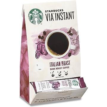 Starbucks VIA Instant Italian Roast Dark Roast Coffee