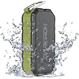 Darkiron K6 Outdoor Bluetooth Speakers Waterproof IPX6 Portable Wireless and Power Bank with Bass HD Sound Built-in Mic Waterproof and Sandproof for Shower Biking Hiking Camping Beach Poolside Party