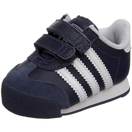 Adidas Samoa Originals Samoa Adidas Comfort Sneaker (Infant/Toddler),New Navy fa2727
