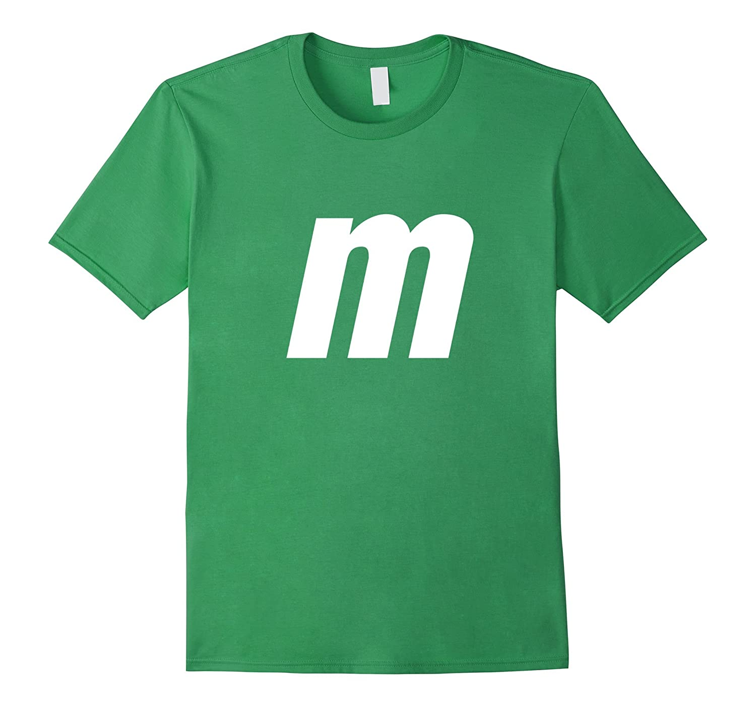M Letter Halloween Candy Costume T-shirt-FL