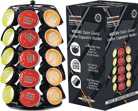 EVER RICH ® Dolce Gusto Soporte Giratorio para 24/32/35 cápsulas de café (35): Amazon.es: Hogar
