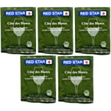 Red Star Active Freeze Dried Wine Yeast - 5 Pack (Cote Des Blanc)