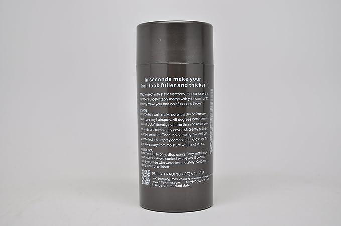 Fully Hair Fibers -23G ~ Premium de Deluxe schütt pelo. Varios colores.~ schütt pelo ~ pelo verdickung ~ steu pelo ~ pelo en relleno ~ en caída del cabello: ...