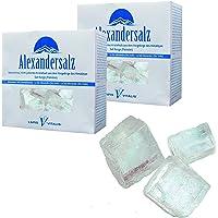 Lapis Vitalis 1608405025 Halit zoutkristallen wit, Himalaya - 2x 1 kg doos, 2 stuks