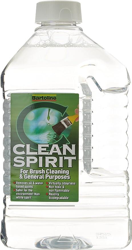 Bartoline 19955020 2L Clean Spirit Disolvente de Pintura: Amazon ...