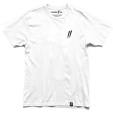 26260f86e Pocket Slash Tee // White | Amazon.com