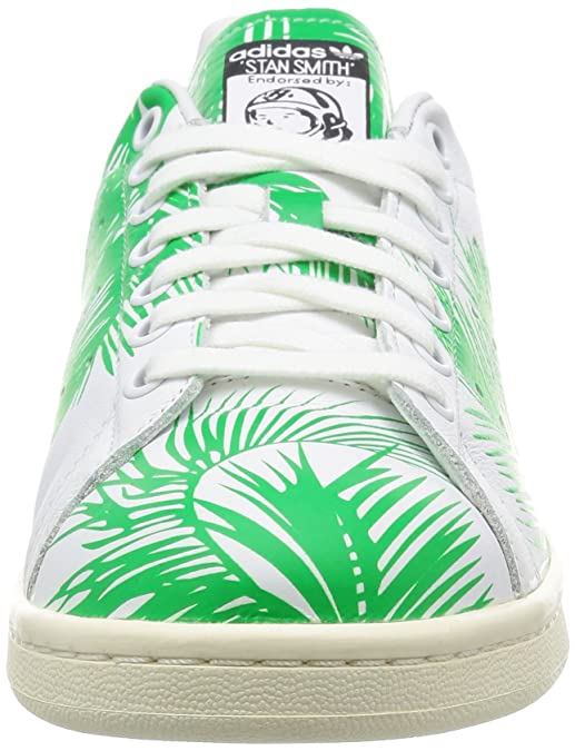 huge selection of b198a 2c00a adidas Originals PW Stan Smith BBC Palm Schuhe Sneaker Turnschuhe Weiß  S82071 Amazon.de Schuhe  Handtaschen