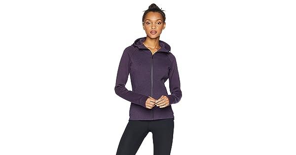 3464fbdbf172d Core 10 Women s Motion Tech Fleece Fitted Full-Zip Hoodie Jacket