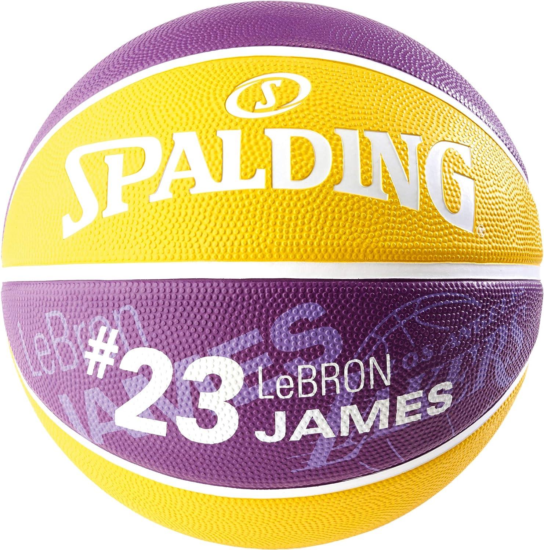 Spalding NBA Player Lebron James SZ.7 (83-848Z) Basketballs ...