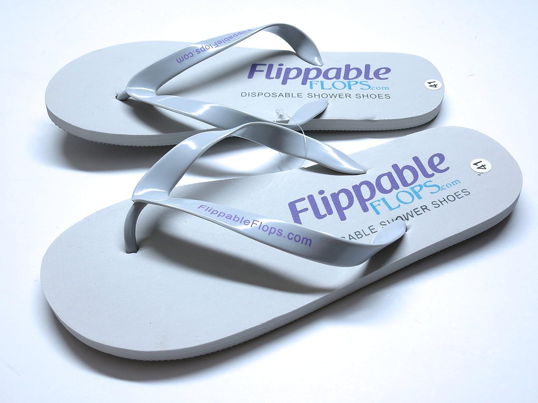 108326f5d2d48 3 Pack Disposable Flip Flops Shower Shoes for spa