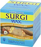 Surgi-wax Brazilian Waxing Kit For Private Parts, 4-Ounce Boxes (Pack of 6)