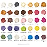 Arteza Mica Powder for Epoxy Resin, 35 Colors, Cosmetic Grade, 0.35 oz Bottles, for Soap Making, Nail Polish, Bath Bombs, Candle & Slime Making