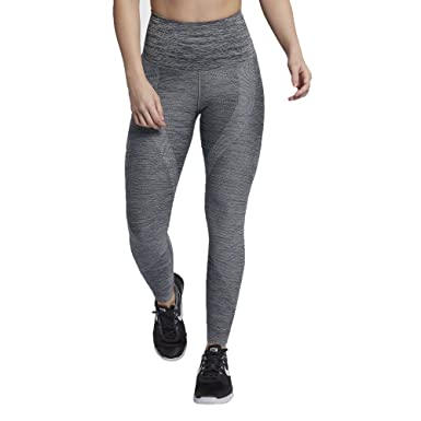 f6b8eec82fbb1 Nike Power Sculpt 941634-010 Black Heather Women s High-Rise Training Tights  (