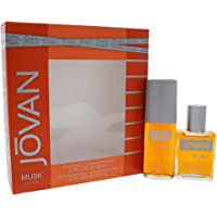 Jovan Jovan Musk by Jovan for Men - 2 Pc Gift Set 2oz Cologne Spray, 2oz After Shave Cologne, 2 count